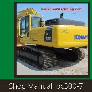 Shop manual pc300-7 pc300lc-7 pc350-7 pc350lc-7