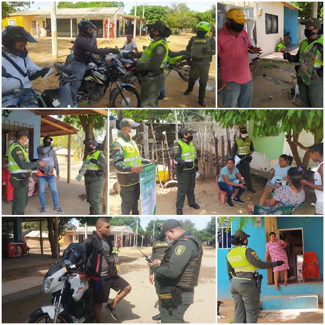 hoyennoticia.com, Policía se tomó el barrio La Luchita de Riohacha
