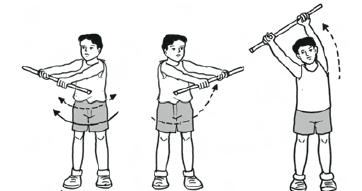 Gerakan Senam Irama (Langkah, Mengayun Lengan, Kombinasi Gerakan Senam Irama)