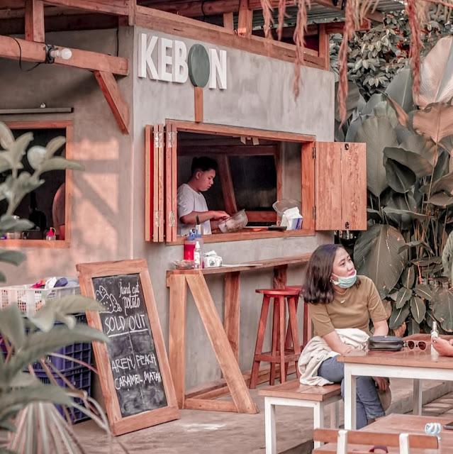 Menu di Kebon TR Cafe Malang