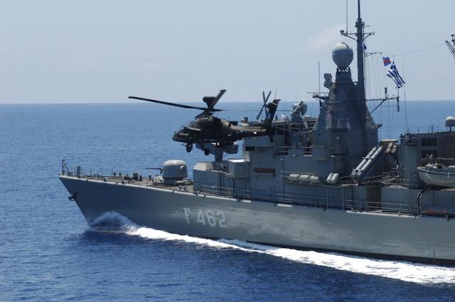 Το Πολεμικό Ναυτικό, περήφανο, στο Ανατολικό Αιγαίο