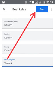 Nama Kelas Google Classroom