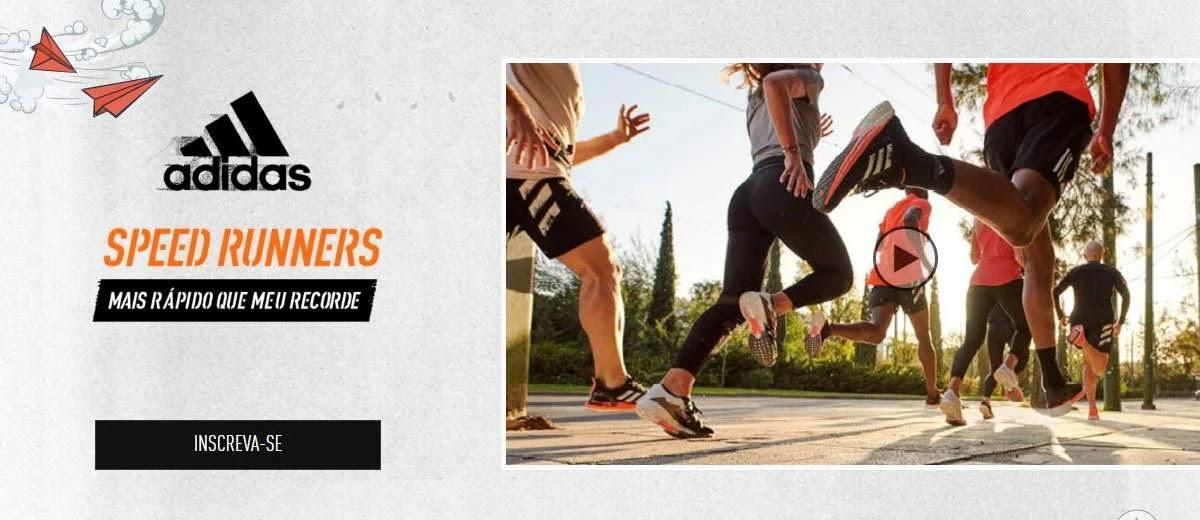 Promoção Speed Runners Adidas 2020 Viagens Berlim, Bogotá e Buenos Aires Meia Maratona
