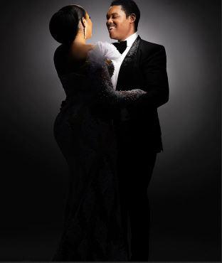 Omotola Jalade-Ekeinde Celebrates 25th Wedding Anniversary With her Husband