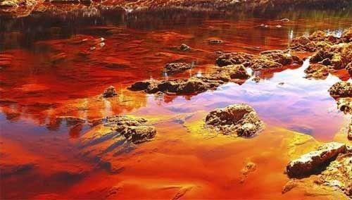 Sungai Rio Tinto, Spanyol