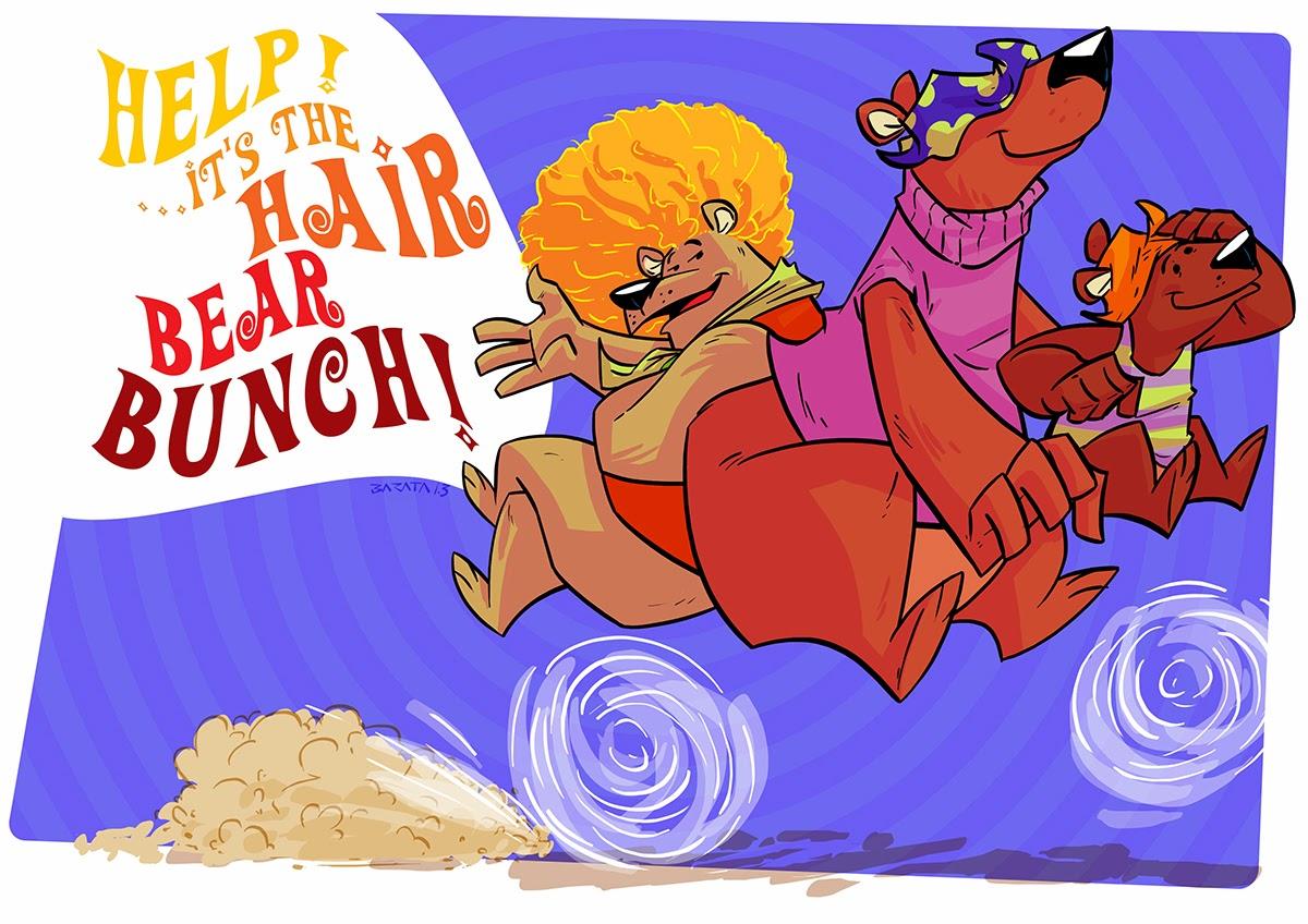 """Animação em Foco: O URSO DO CABELO DURO (""""Help!...It's the Hair Bear Brunch"""") Hanna Barbera - 1971"""
