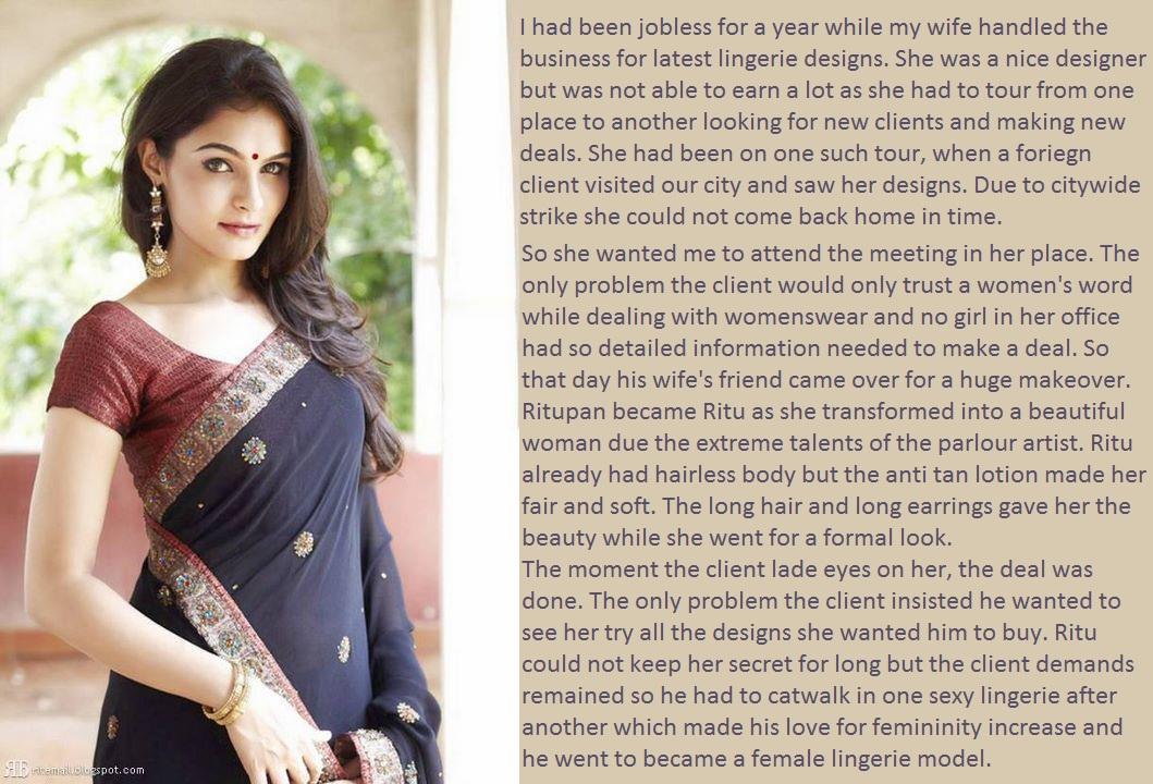 Indian Crossdressing Blog: Wife On Tour
