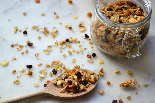 Maple & Cinnamon Granola