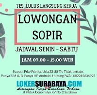 Lowongan Sopir di Bluebird Taxi Surabaya Terbaru November 2019