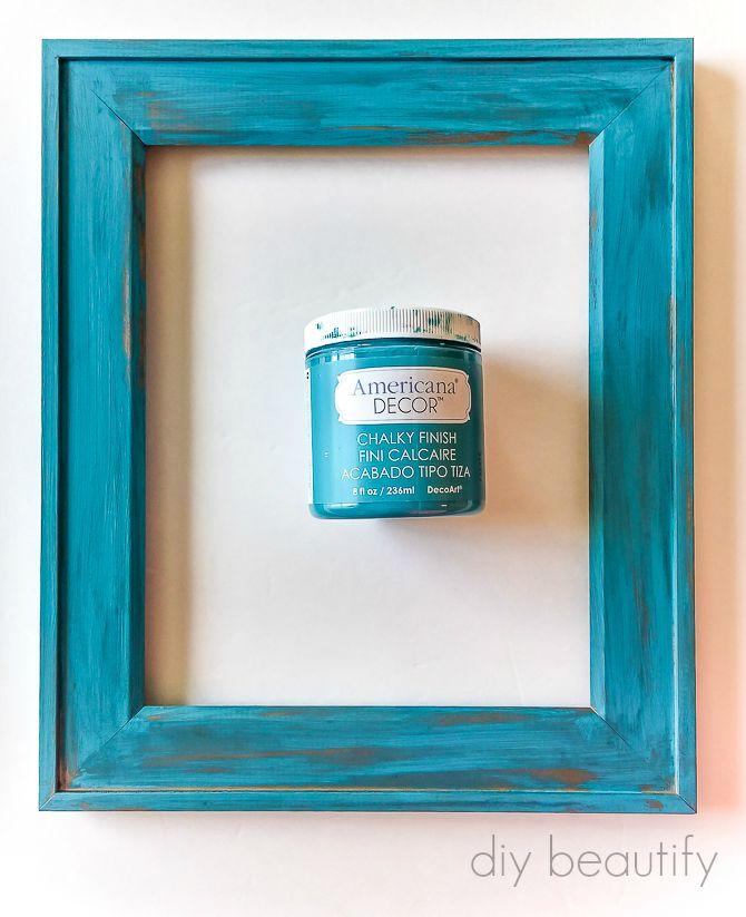 Favorite DIY Photo Clip Frame Gift Idea | DIY beautify TO67