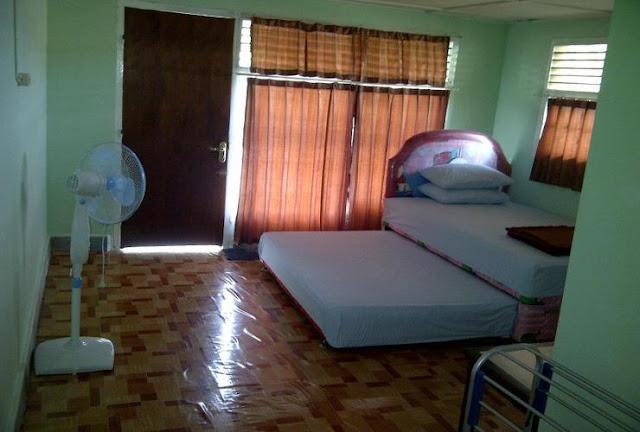 Kamar Kipas Angin MMM Guest House Belitung