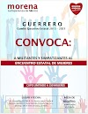 *Organizará este domingo Morena Guerrero encuentro con mujeres