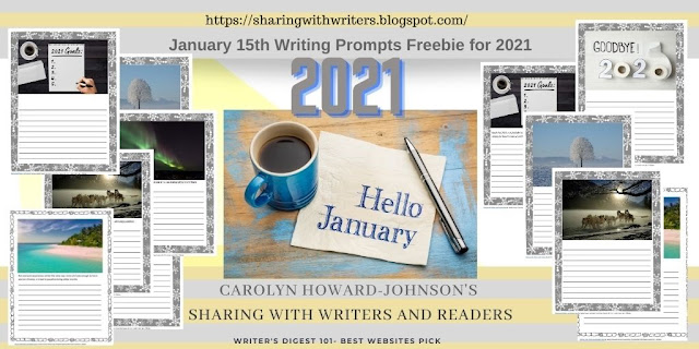Writing Prompts Freebie for January 2021