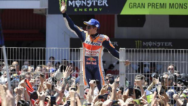 Marquez Sangat Beruntung Karena Simoncelli Sudah Tidak Berlaga di MotoGP 2019