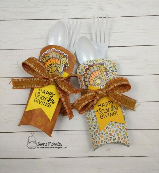 Happy Thanksgiving by Diane features Newton's Thanksgiving by Newton's Nook Designs; #newtonsnook