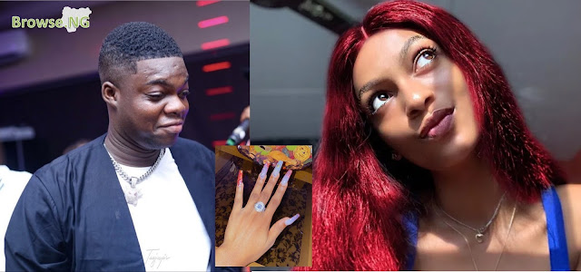 Comedian, Lawyer Kunle Engages Girlfriend, Adeherself Amidst Christmas Celebrations