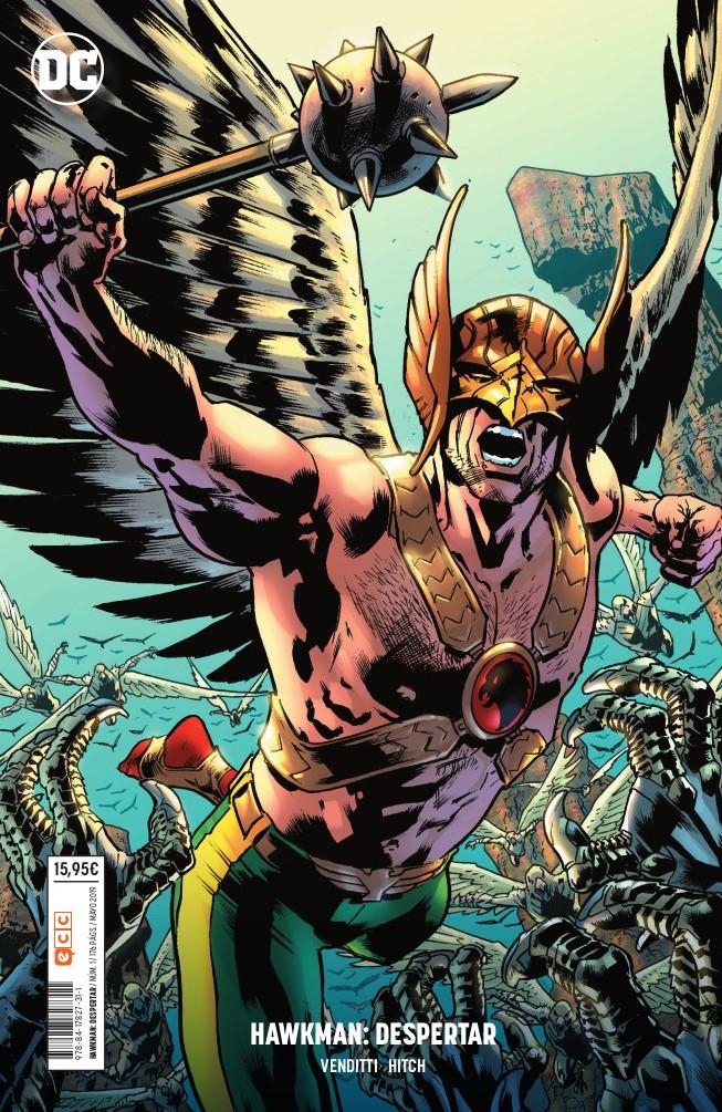 "Cómic reseña: ""Hawkman: Despertar"" de Robert Venditti y Brian Hitch"