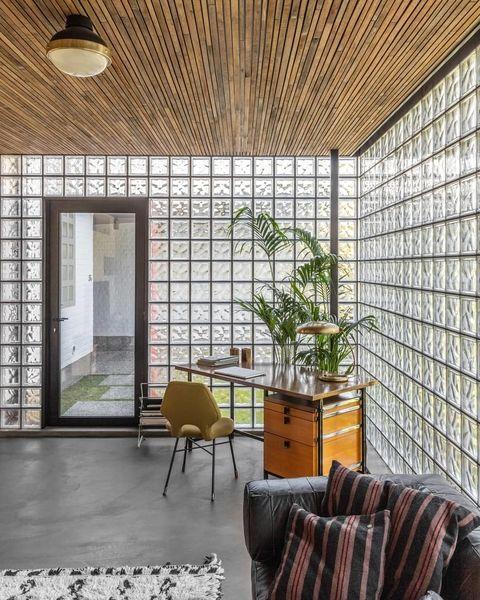 glass blocks decor