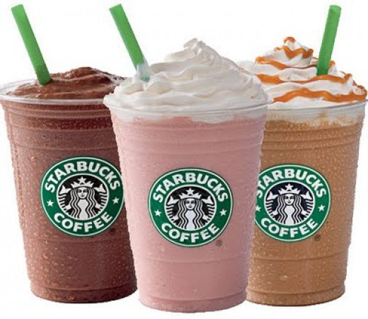 Three Healthy Drinks at Starbucks