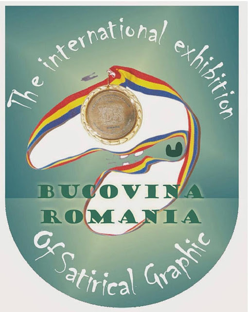 The Winners of the 13th International Exhibition of Satirical Graphic BUCOVINA – ROMANIA 2019