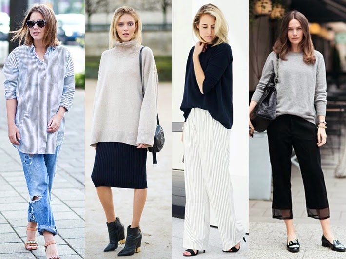Minimal and Chic Street Style Slouchy