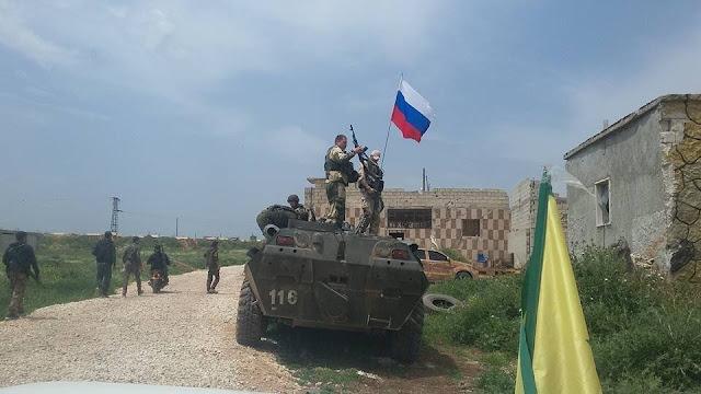 Ρωσικές Δυνάμεις θα Υπερασπιστούν τη Manbij «Τη Στιγμή που θα Φύγουν οι Αμερικανοί»