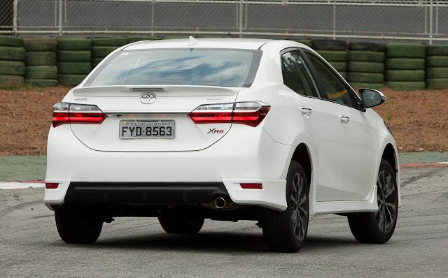 Novo Toyota Corolla XRS 2018 - Preço