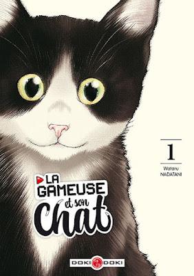 La gameuse et son chat tome 1 aux éditions Doki Doki