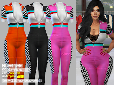 99 Jumpsuit for The Sims 4