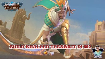 Build Khaleed Tersakit di M2