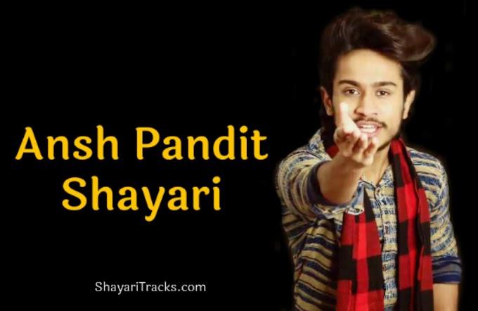 Ansh Pandit Shayari lyrics: टॉप 75+ हिंदी शायरी
