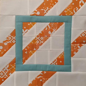 Skyscraper quilt block by Slice of Pi Quilts for Quiltmaker's 100 Blocks