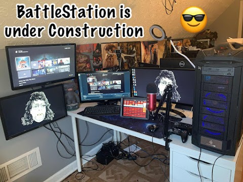 Papi GrayBeard's Battlestation is under Construction