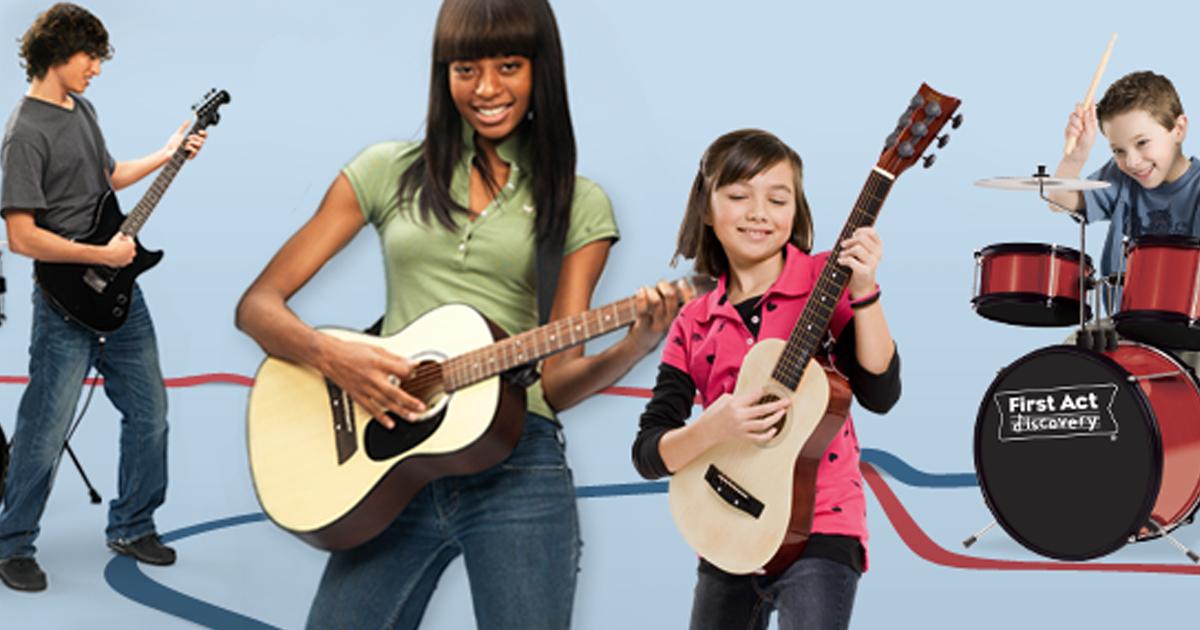 Cách chọn đàn Guitar cho trẻ em