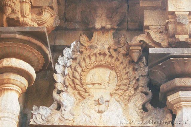 Madattukoil Madathu koil Pudukottai Vijayanagara Sculptures Makara Meen