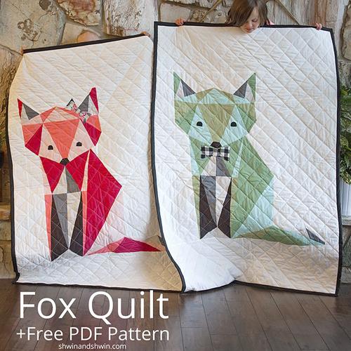 Fox Quilt - Free PDF Pattern