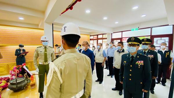 退輔會主委馮世寬祭悼彰化榮家榮靈 宣告「任務終止令」
