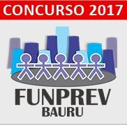 Concurso FUNPREV Bauru 2017