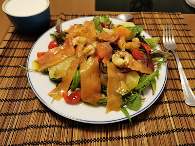 Una deliciosa Ensalada marinera (o salade marinière)