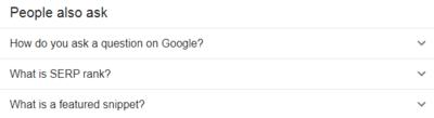SEO Strategies : Google May Ask