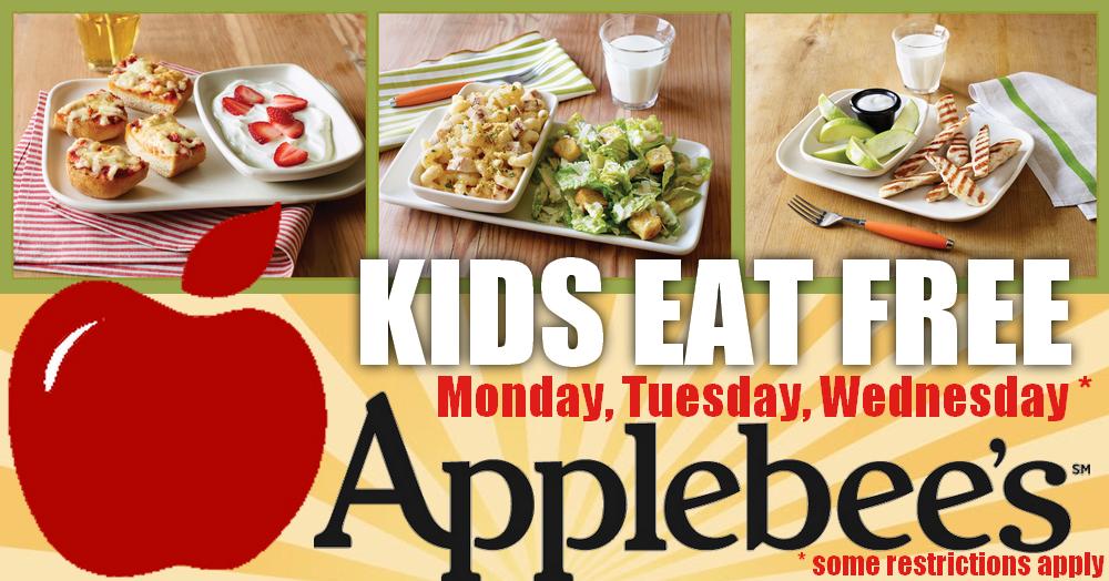 Where Do Kids Eat Free On Mondays