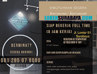 Info Loker Surabaya di Affordable Toko Drip N' Dry Oktober 2020