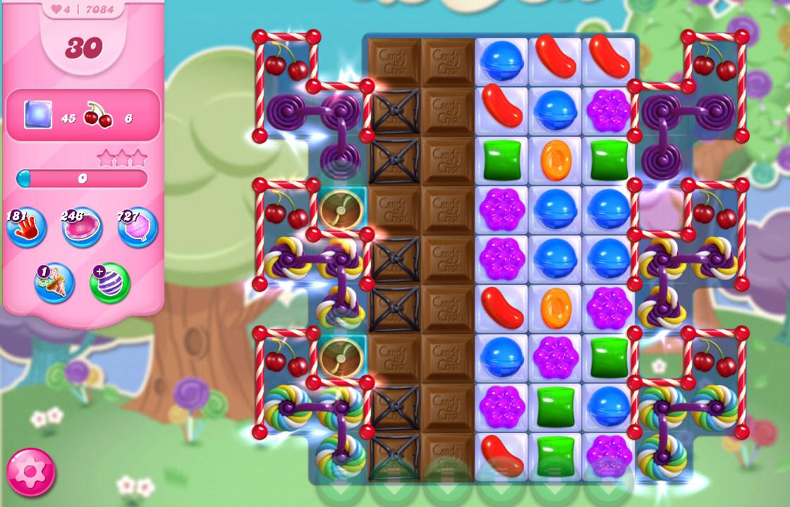 Candy Crush Saga level 7084