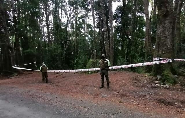 Hombre desaparecido fue encontrado calcinado en la Ruta T-29