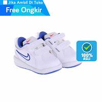 Alfacart Sepatu Anak NIKE Pico 4 Putih Biru ANDHIMIND