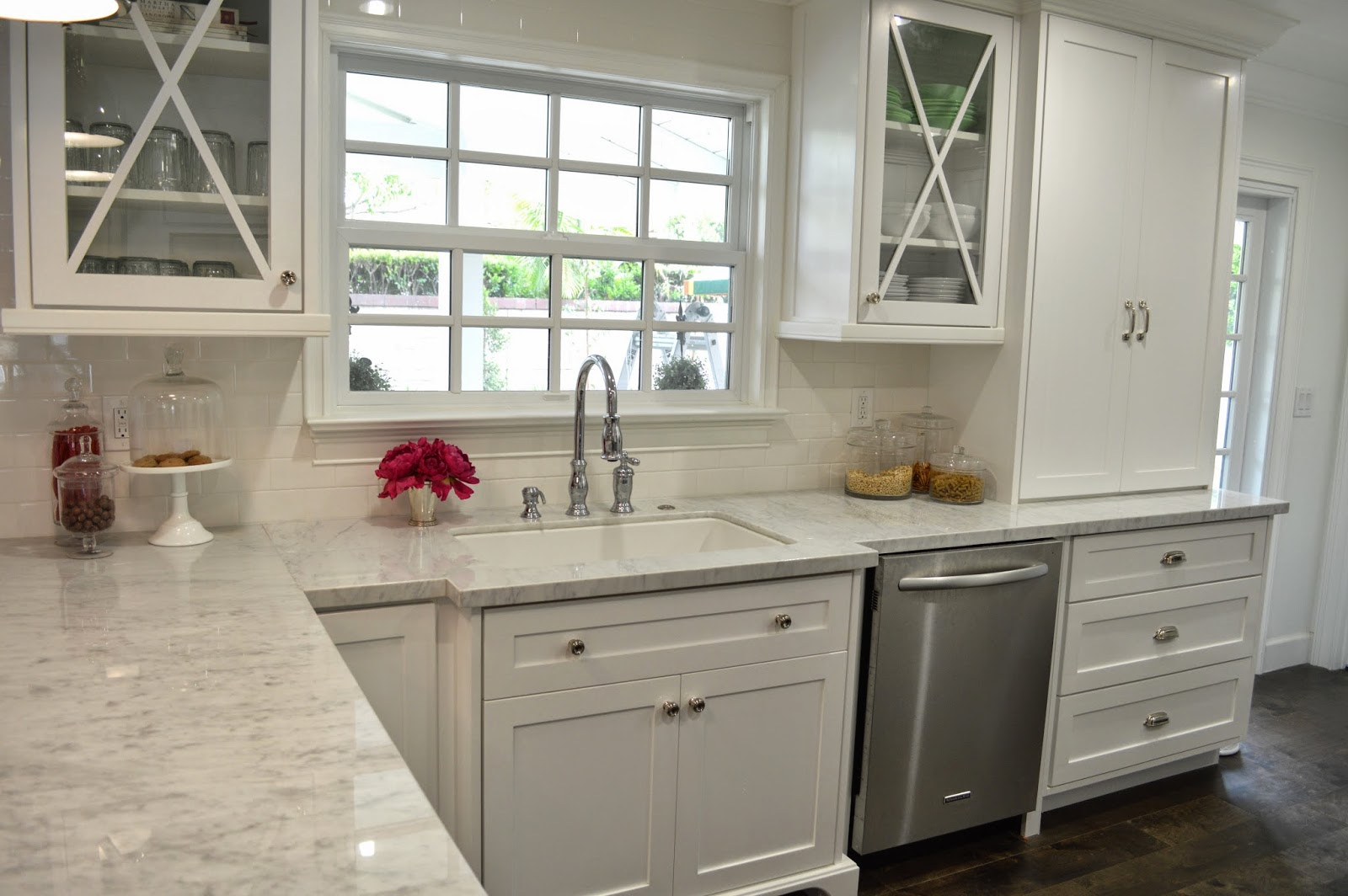 The Cape Cod Ranch Renovation Great Room Continued Kitchen