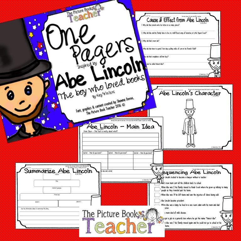 Abe Lincoln Books: The Picture Book Teacher's Edition: Abe Lincoln The Boy