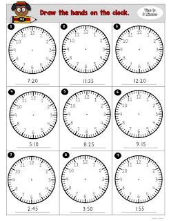 Time Task Boards 5 Minutes Intervals