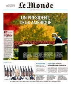 Le Monde Magazine 10 November 2020 | Le Monde News | Free PDF Download