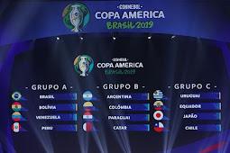 Hasil Draw Copa America 2019